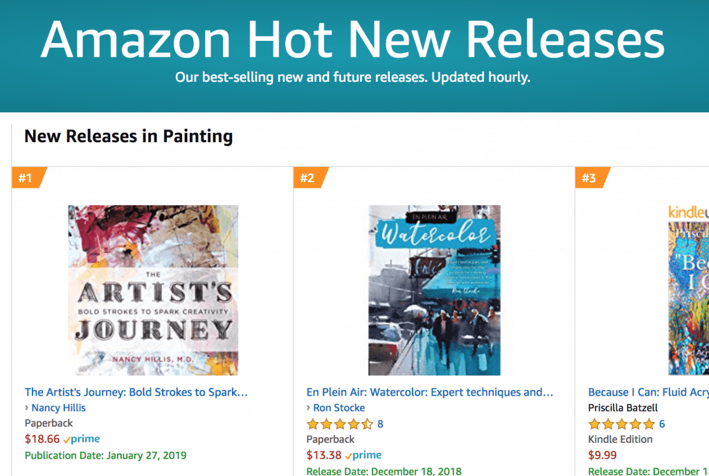 The Artist's Journey by Nancy Hillis, MD | #1 Hot New Release - Painting- Amazon