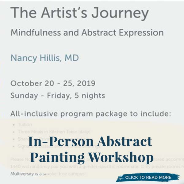 The Artist's Journey In-Person Abstract Painting Workshop at 1440 Multiversity