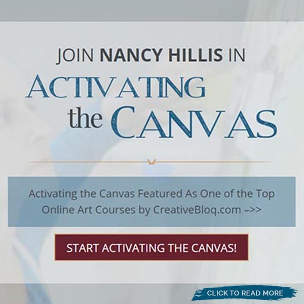 Activating the Canvas Featured as a Top Online Painting Class