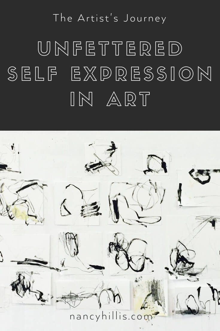 The Artist's Journey: Unfettered Self Expression in Art