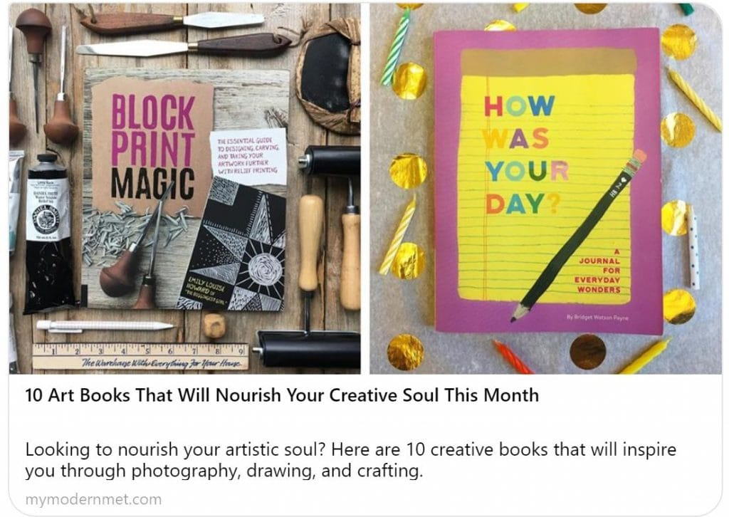 Ten Books That Will Nourish Your Creative Soul by mymodernmet. The Artist's Journey: Bold Strokes To Spark Creativity was featured here. Scroll through to get your copy