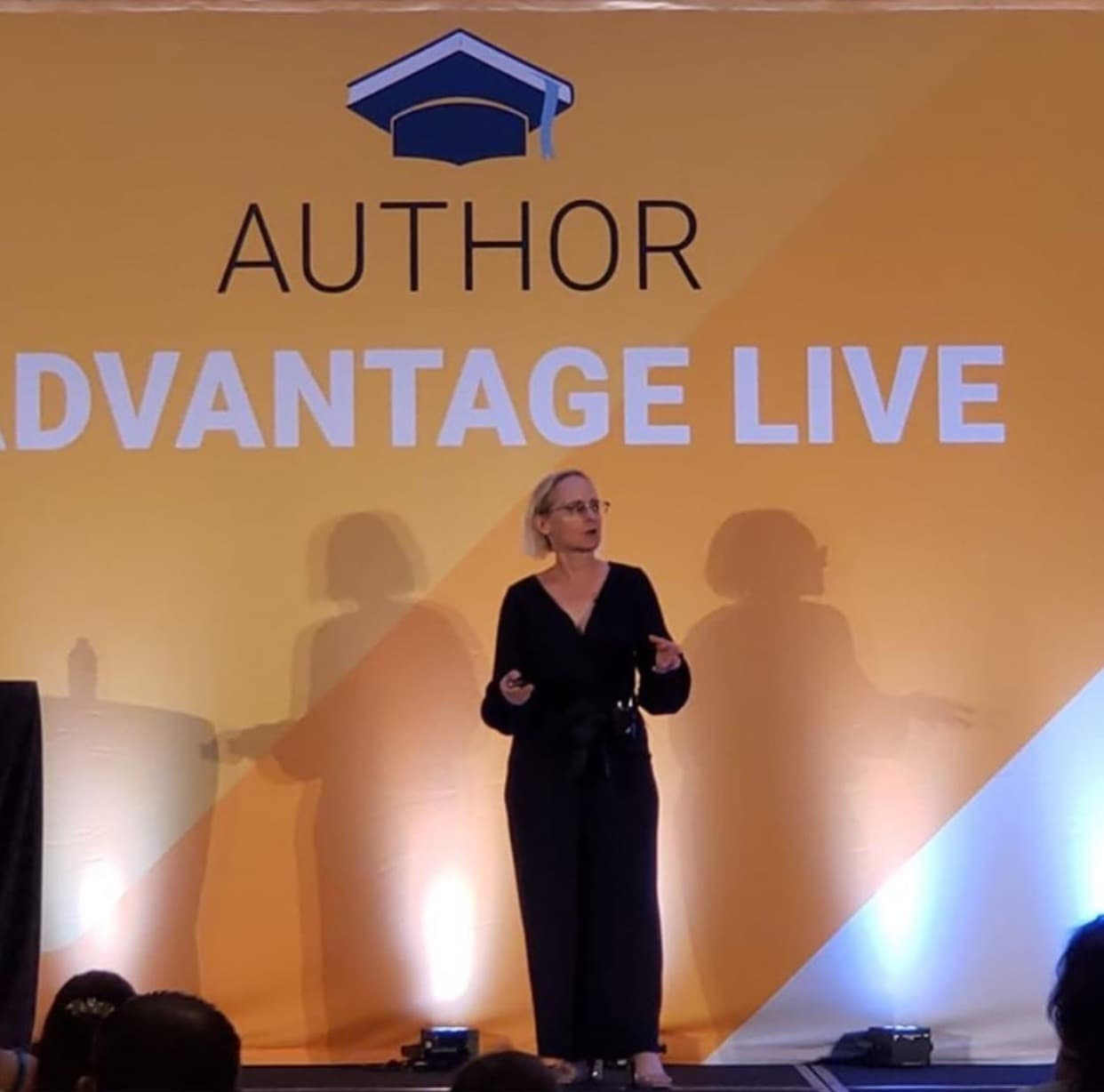 Nancy Hillis- Speaking at Author Advantage LIVE about The Hero's Journey in Art and Life.