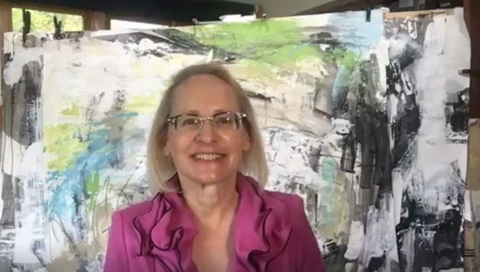 Why Your Story Matters - Nancy Hillis. has an artistic message for you. Scroll through to see the video. #creativity #abstract #selfhelp #mindfulness