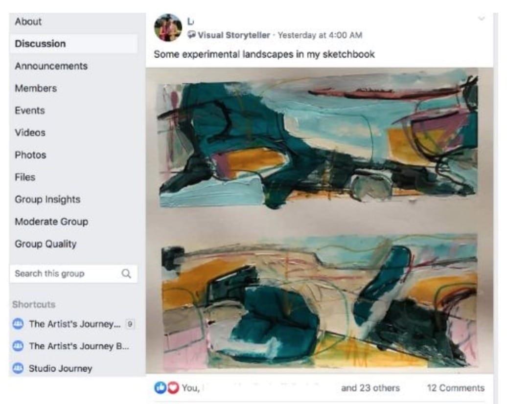 Studio Journey Facebook group