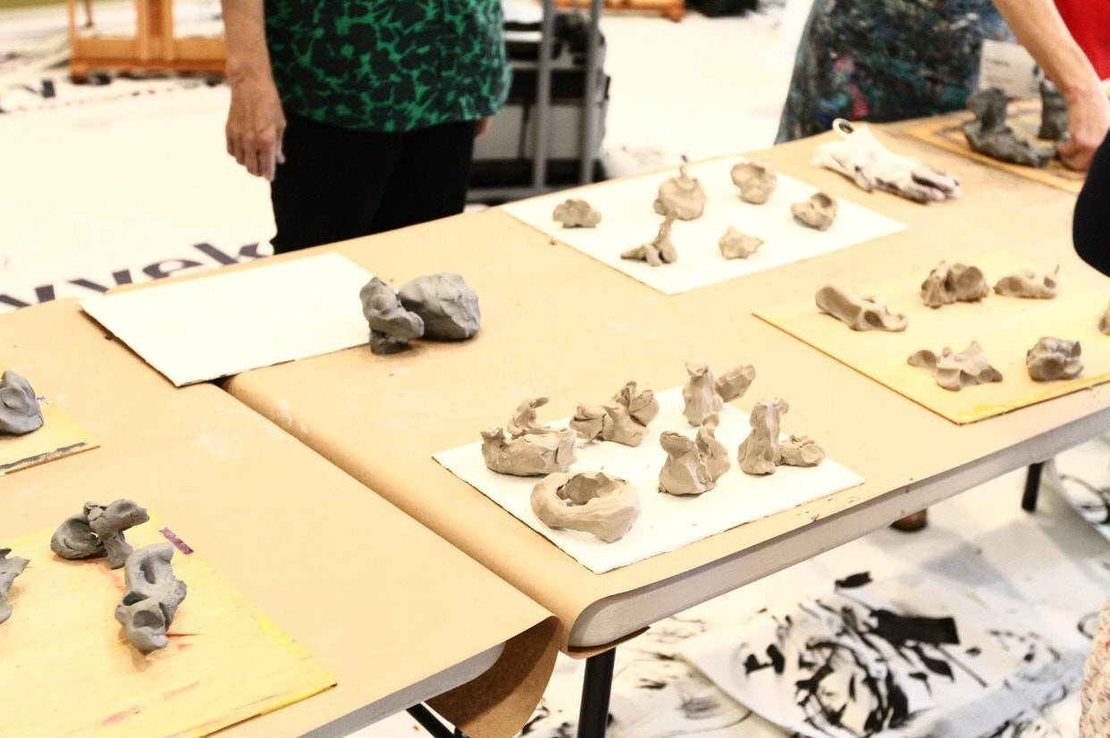 The Artist's Journey Retreat- Clay Maquettes
