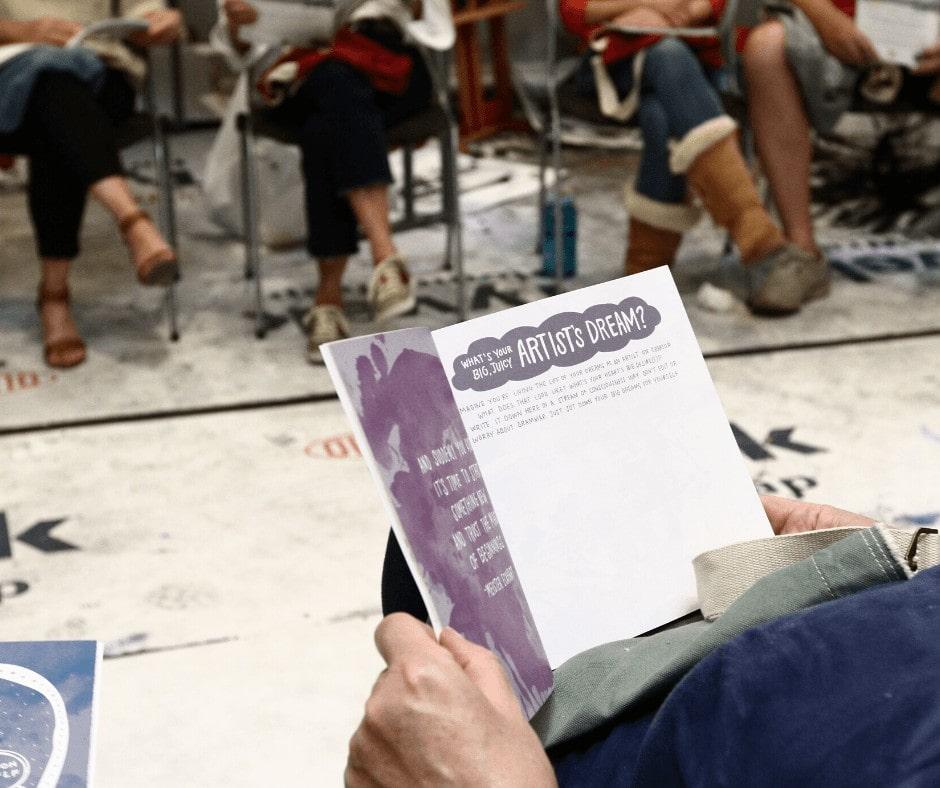 Creativity Reflection Journal-The Artists Journey-Nancy Hillis