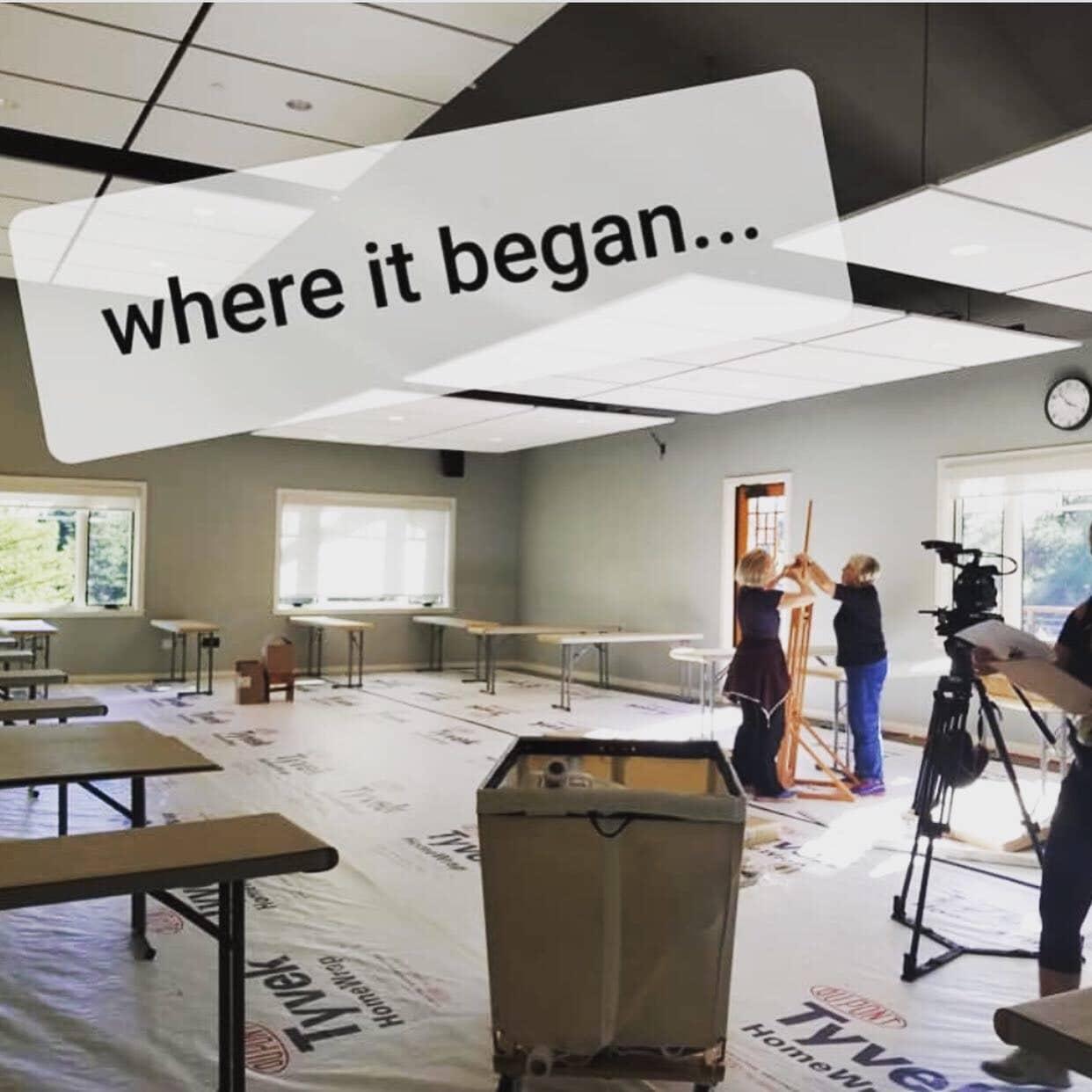 The Artist's Journey Retreat- Nancy Hillis- This is how it began