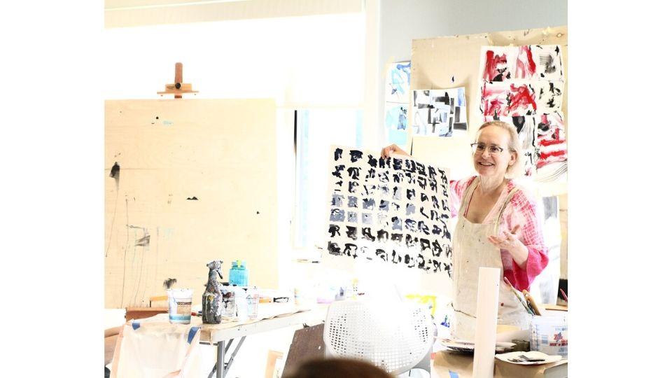 The Artists Journey Retreat- Nancy Hillis