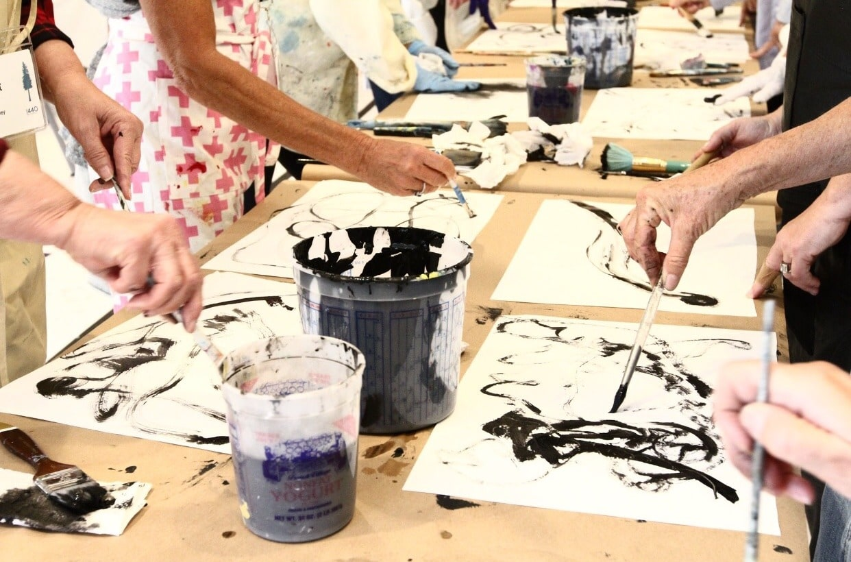 The Expressive Language of Mark Making- The Artist's Journey Retreat