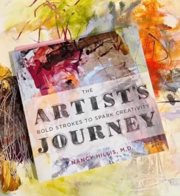 The Artist's Journey: Creativity Reflection Journal- From best selling author, Stanford trained psychiatrist and founder of The Artist's Journey Nancy Hillis, MD. #BIGcreativity. Scroll through to discover more.