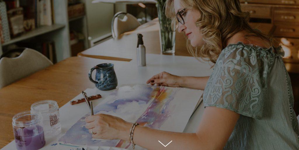 Angela Fehr interviews . Nancy Hillis- Artist, Psychiatrist & Best Selling Author of The Artist's Journey. Click through to see the interveiw.