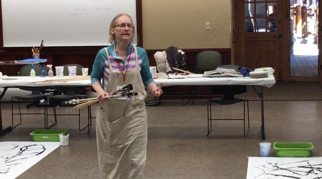 Nancy Hillis Teaching At Stanford Sierra Camp