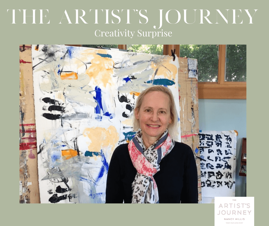 Nancy Hillis-The Artists Journey Creativity Reflection Journal #creativity