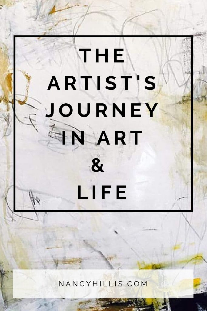 The Artist's Journey In Art And Life | If you want to say yes to being an artist, but you're afraid to take the plunge | Then this post is for you! It includes my talk to the San Francisco Opera Guild on why saying YES to your artist's journey is so important to your life. Click through to check out the talk and to gather inspiration for your own wondrous artist's journey!