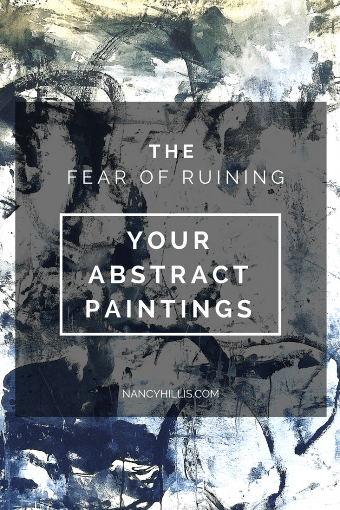 Fear of Ruining Abstract Art