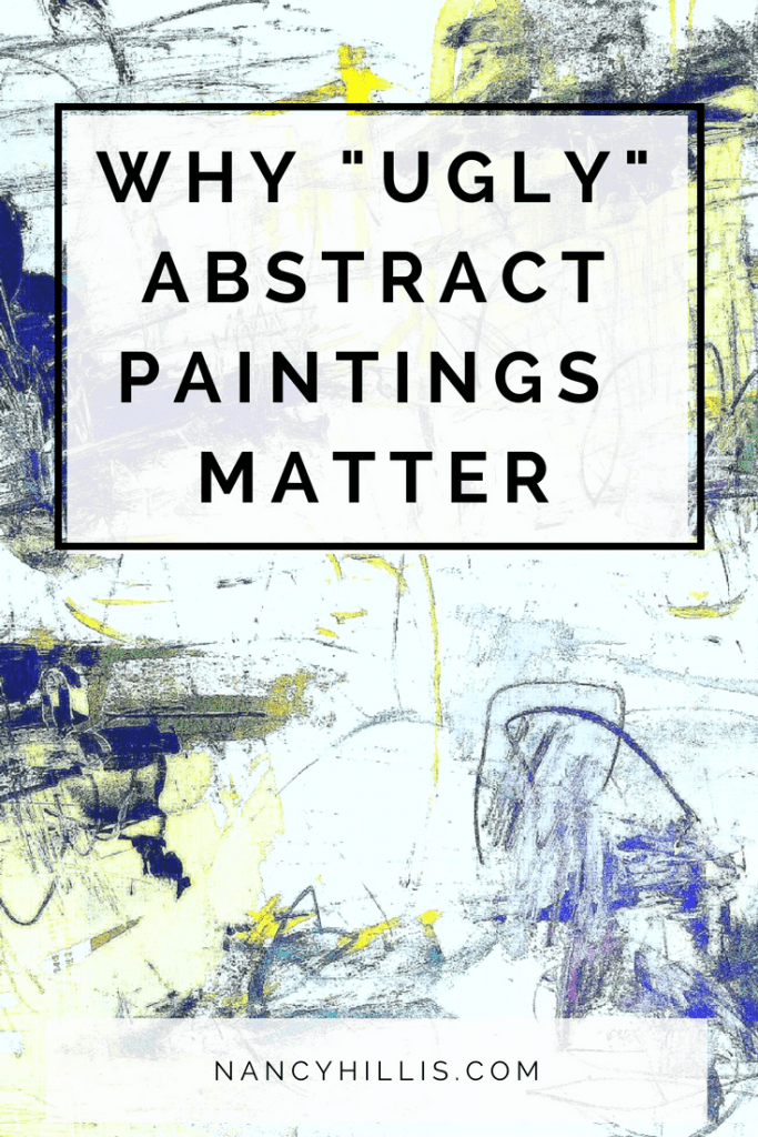 Ugly Abstract Paintings