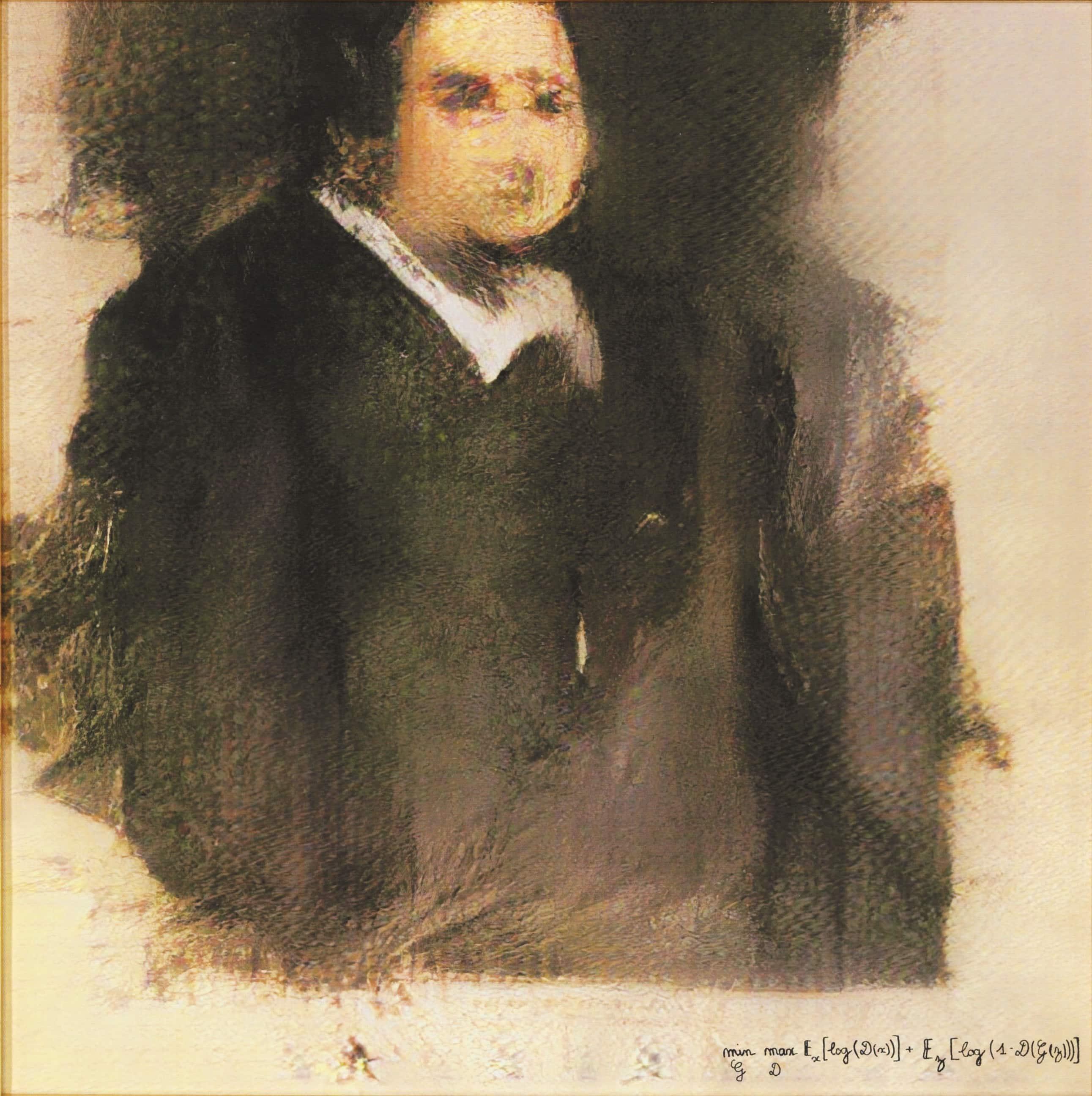 AI Painting- Edmond de Belamy