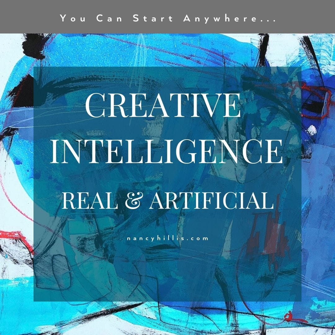 Creative Intelligence: Real & Artificial