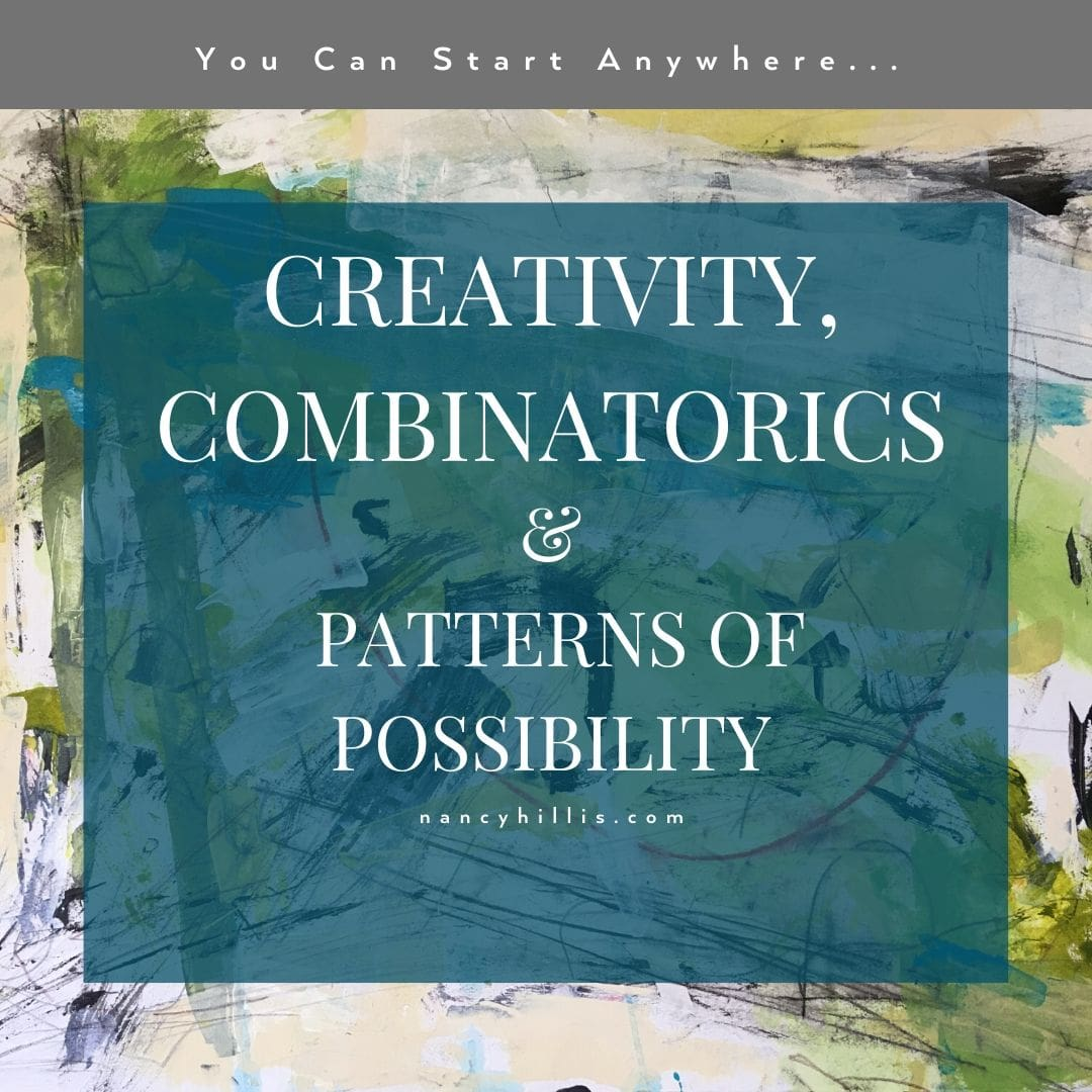 Creativity, Combinatorics and Patterns Of Possibility