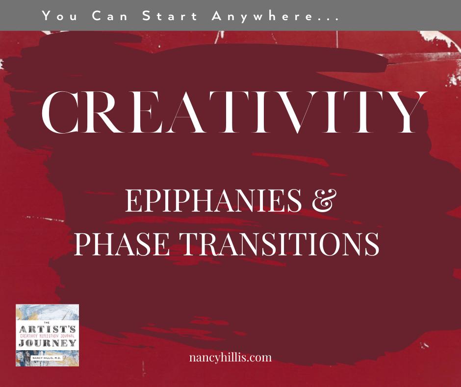 Creativity, Epiphanies & Phase Transitions