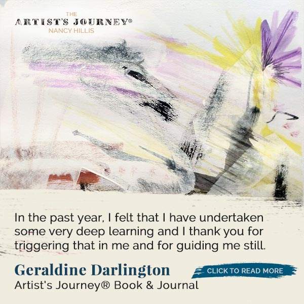 Geraldine Darlington – The Artist's Journey® Book