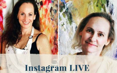 "Instagram LIVE ""Tap Into Your Creativity"" with Sandra Felemovicius"