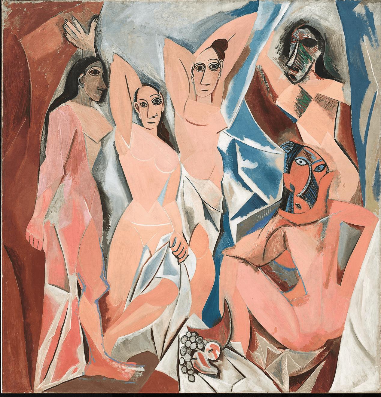 Les Demoiselles d Avignon- - Pablo Picasso