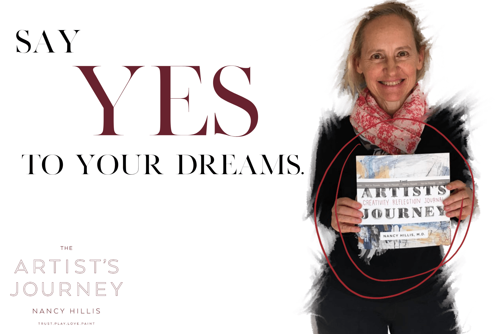 Say YES To Your Dreams- Nancy Hillis- The Artist's Journey®