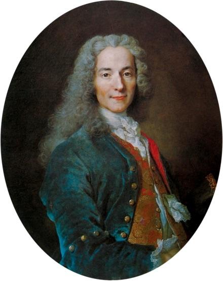 Nicolas de Largilliere Francois-Marie Arouetdit Voltaire