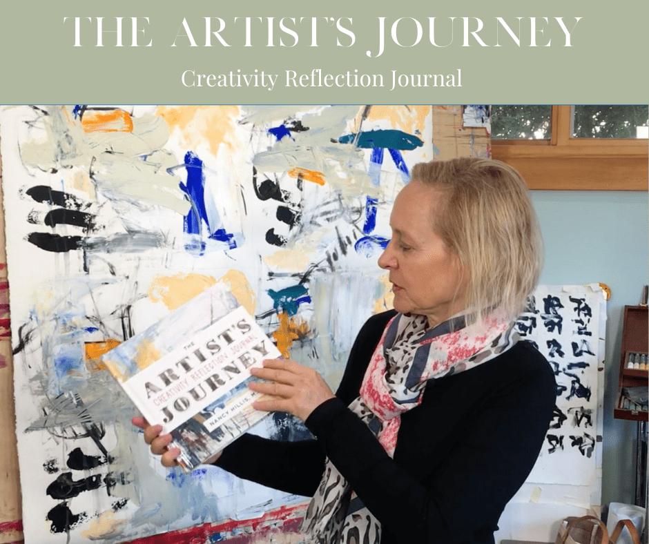 The Artists Journey Creativity Reflection Journal-Surprise-Nancy Hillis #creativity